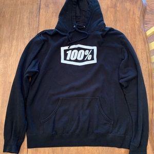 100% motocross hoodie